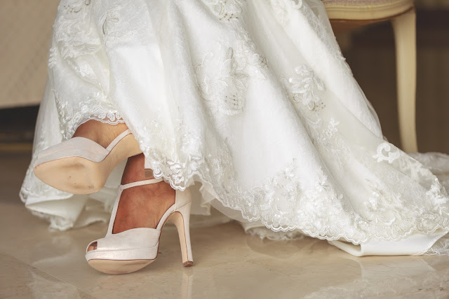 Scarpe sposa bianche tacco alto