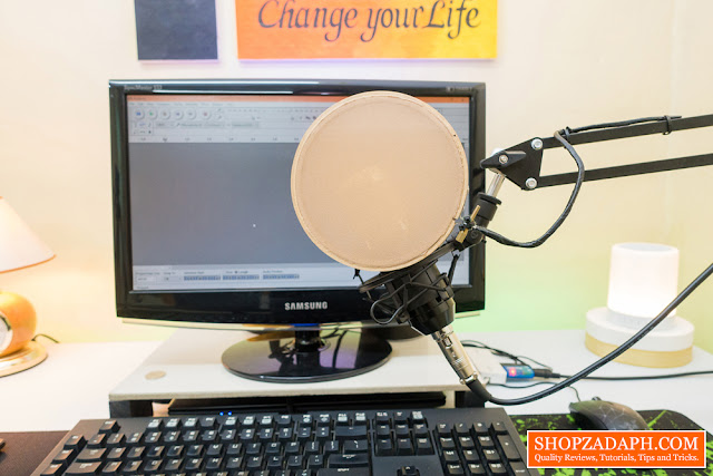 how to make a diy pop filter
