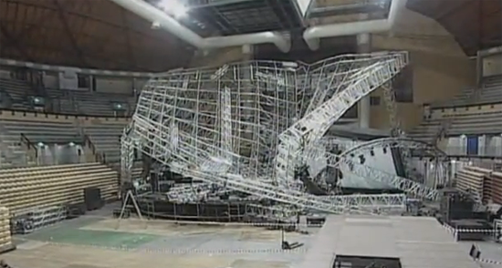 Theatre Safety Blog Stage Truss Collapse In Italy Kills