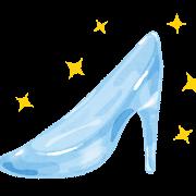 ガラスの靴のイラスト