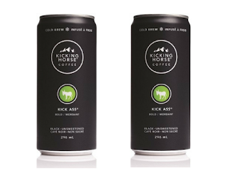 FREE 296mL can of Kicking Horse Coffee Cold Brew
