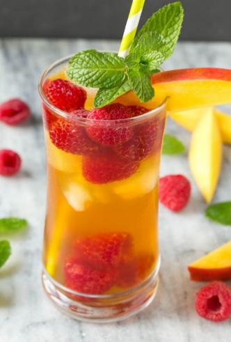 MANGO ICED TEA #mango #drink