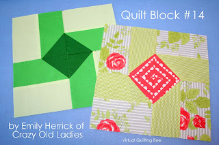 Virtual Quilting bee program featured by top US quilting blog, Diary of a Quilter