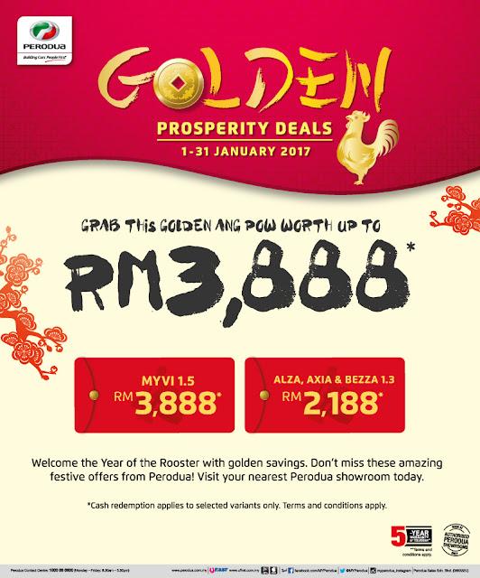 Perodua Prosperity Deals Myvi 1.5 Alza Axia Bezza 1.3 Discount Promo