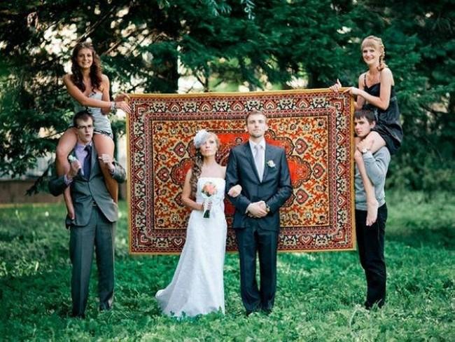 Fotos de casamento bizarras da internet