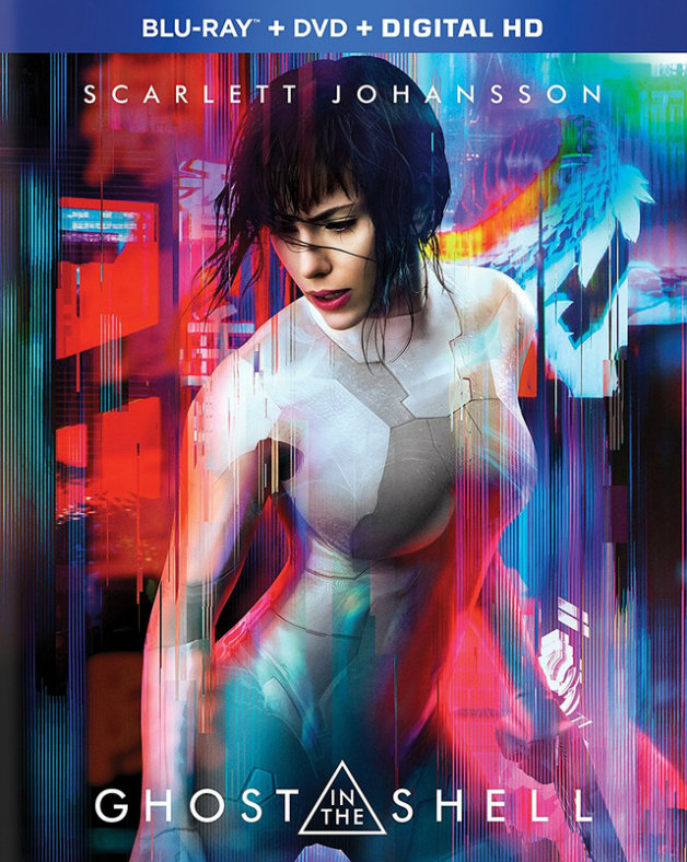 Ghost in the Shell (2017) BRRip  Full Movie Cover