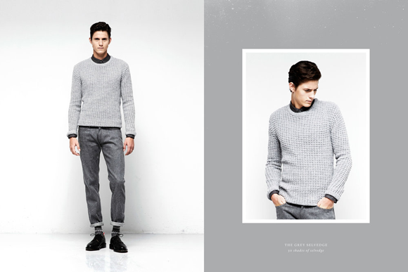 Olaf Hussein The Grey Selvedge