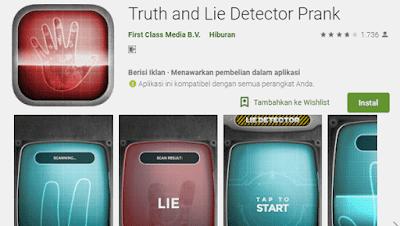 aplikasi untuk deteksi kebohongan seseorang