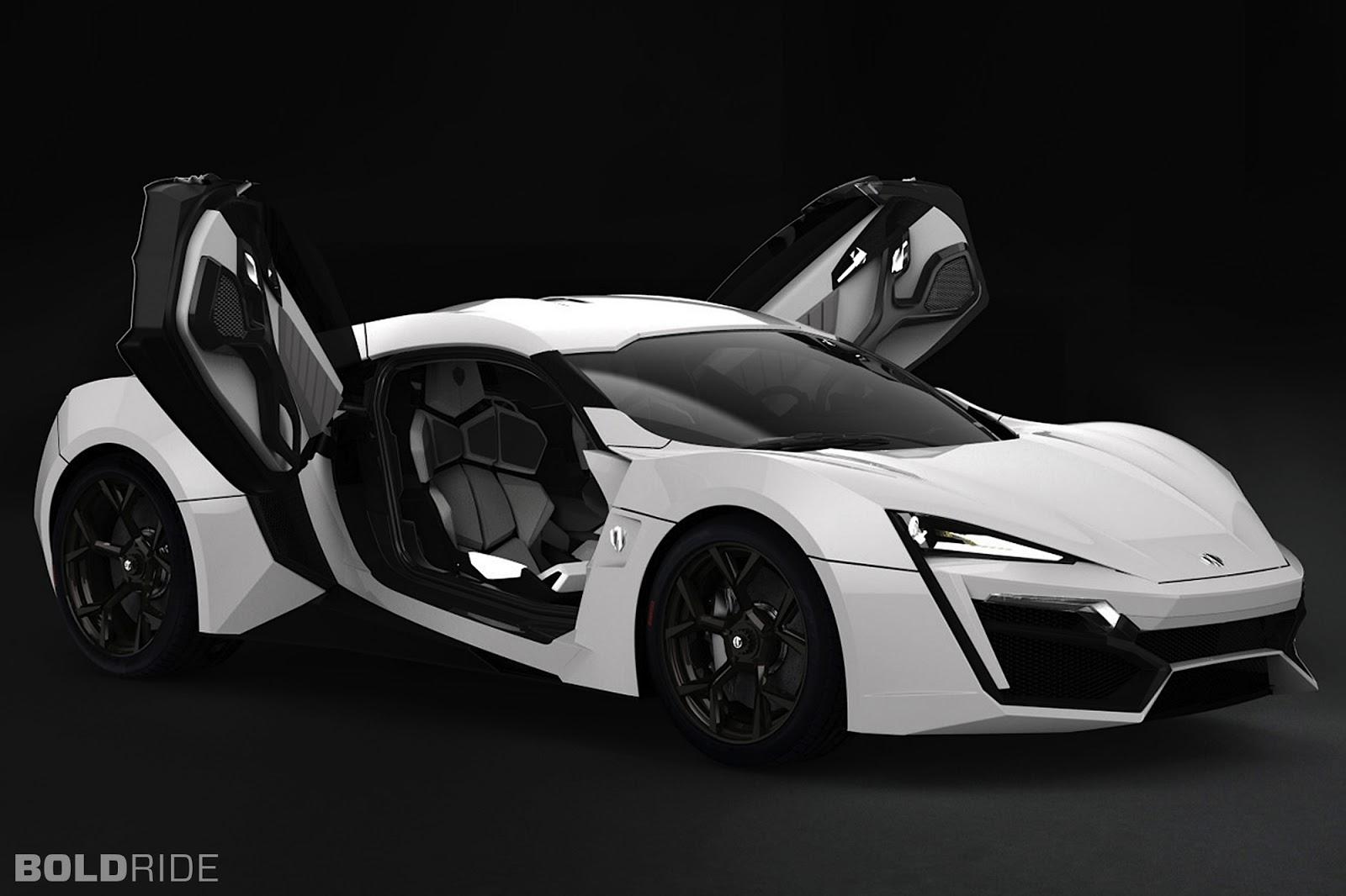 W Motors Lykan Hypersport New Expansive Cars