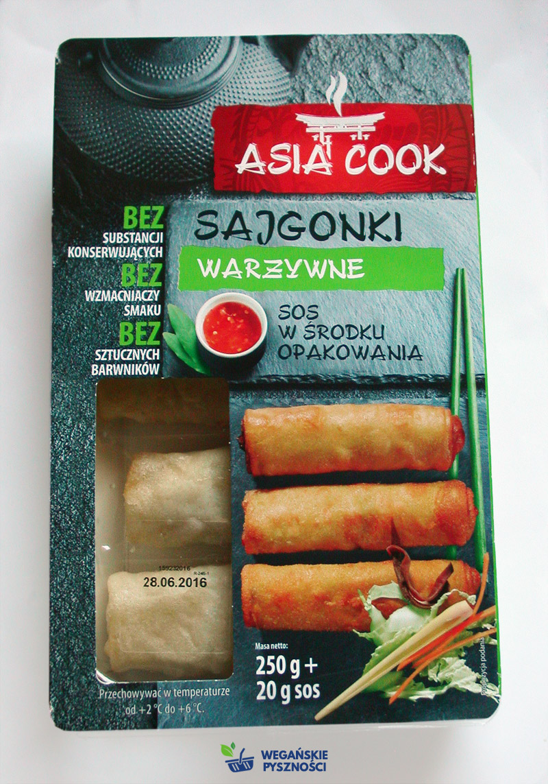 Smaczne I Weganskie Sajgonki Warzywne Asia Cook