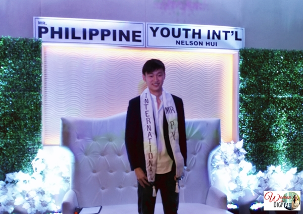 Nelson Hui, Mr. Philippine Youth International