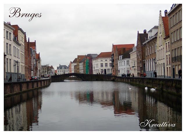Bruges veduta della città
