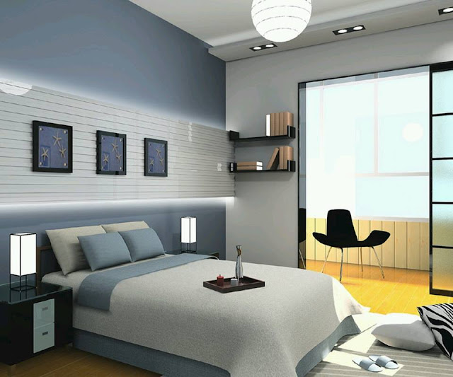 Awesome modern bedroom design ideas 2015 using smooth color in small bedroom decor