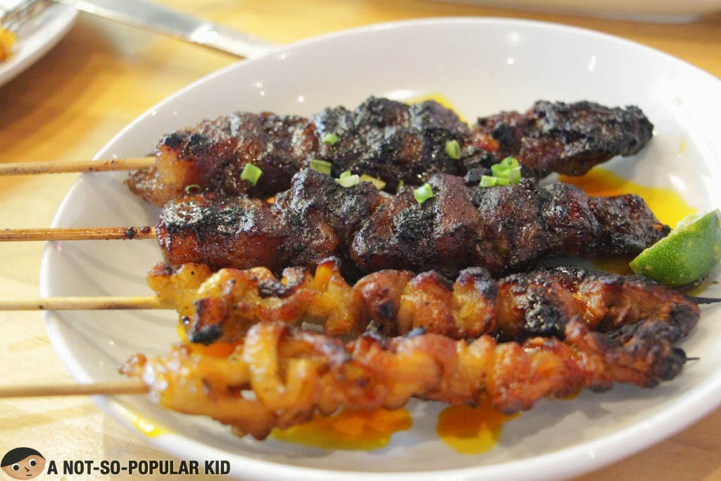 SARSA's special Pinoy skewers - barbecue and more!