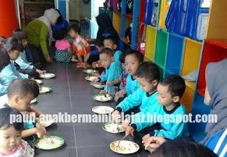 Anak PAUD Sehat, Gizi Anak, Makan Sehat Bersama, Gizi Anak PAUD, PHBS di PAUD
