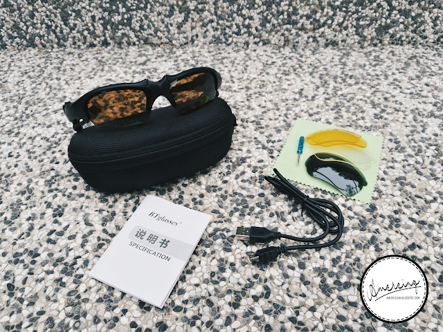 Unboxing: BT Bluetooth Earphone Sunglasses Review
