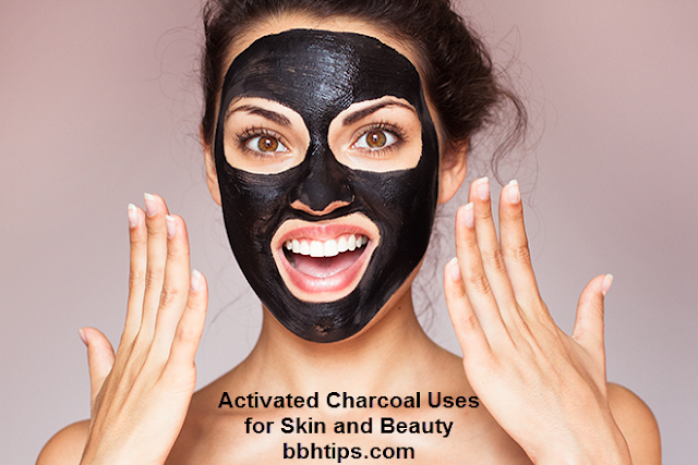 Activated Charcoal Uses for Skin and Beauty