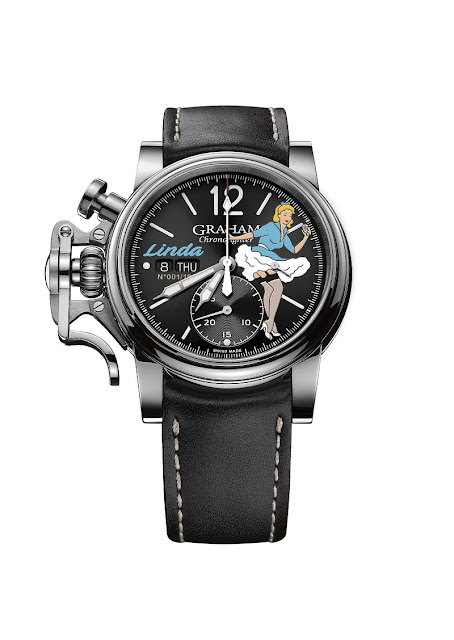 Four new Graham Chronofighter Vintage Nose Art Ltd models salute the art of noise