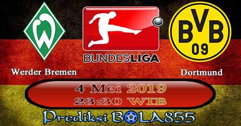 Prediksi Bola855 Werder Bremen vs Dortmund 4 Mei 2019
