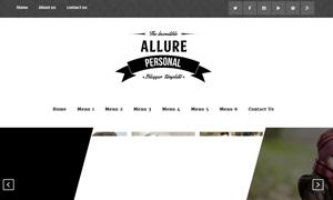 Download Allure Blogger Template