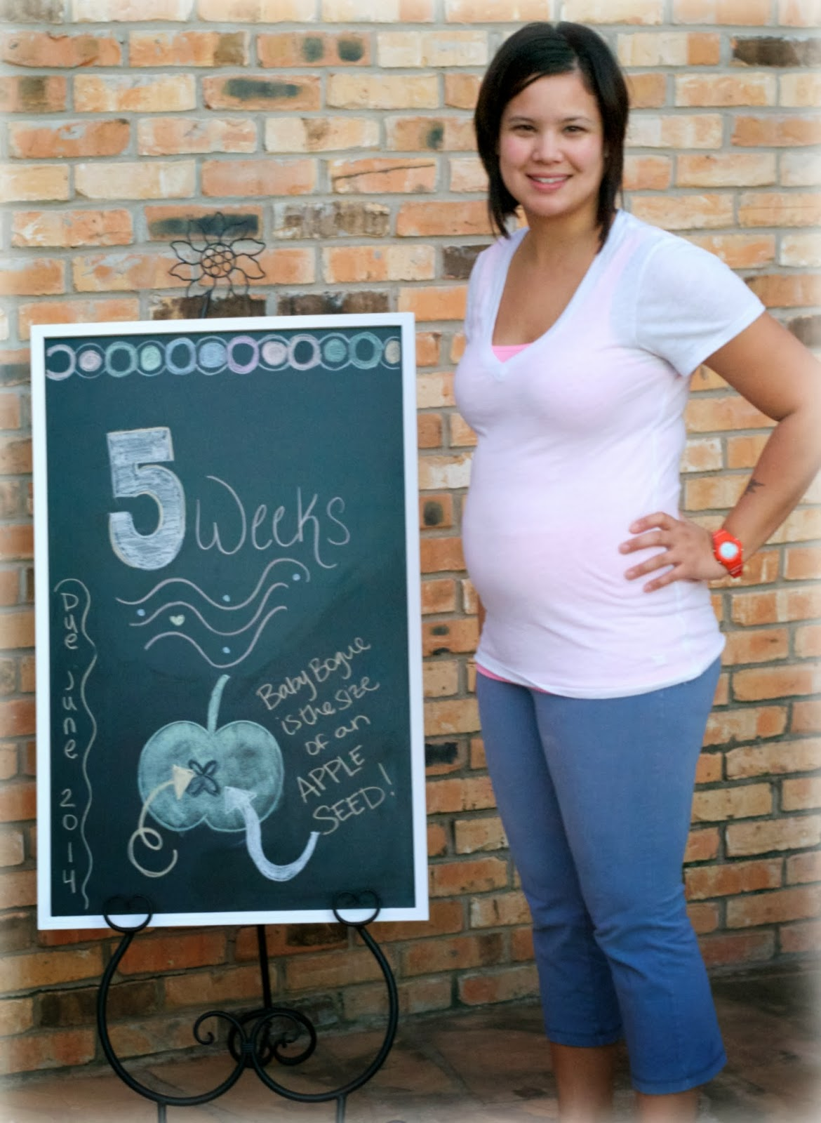 Savanna's Wings: 5 Week Bumperoo | Pregnant with our ...