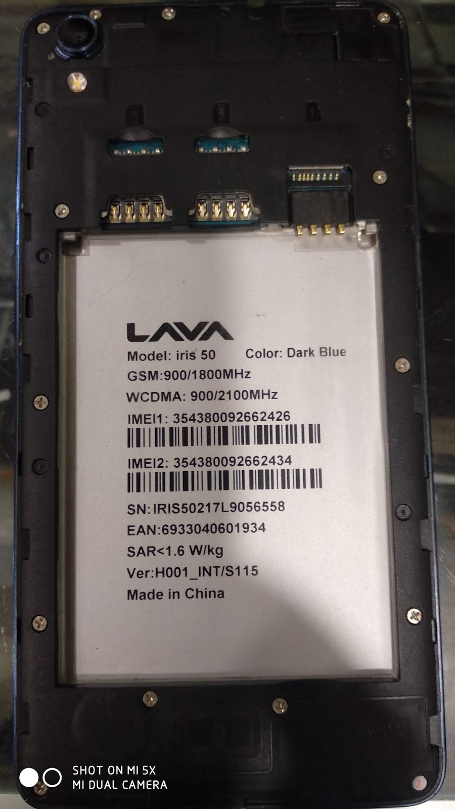 LAVA iris 50 Flash file 100% tested without password cm2