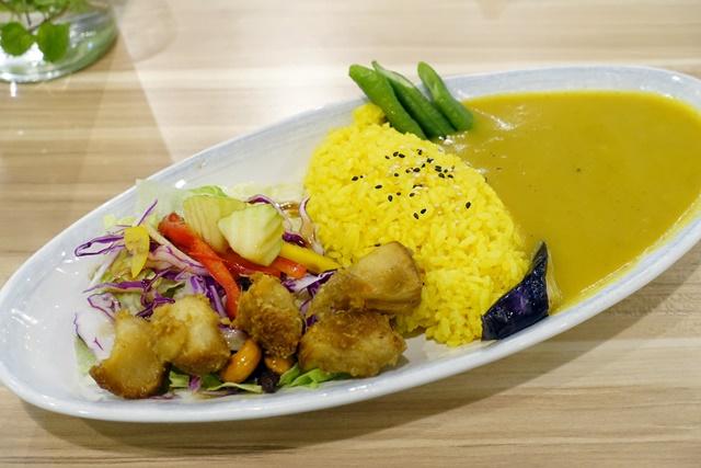 台北市捷運市政府站素食【伽哩咖哩 玉波堂】猴頭菇