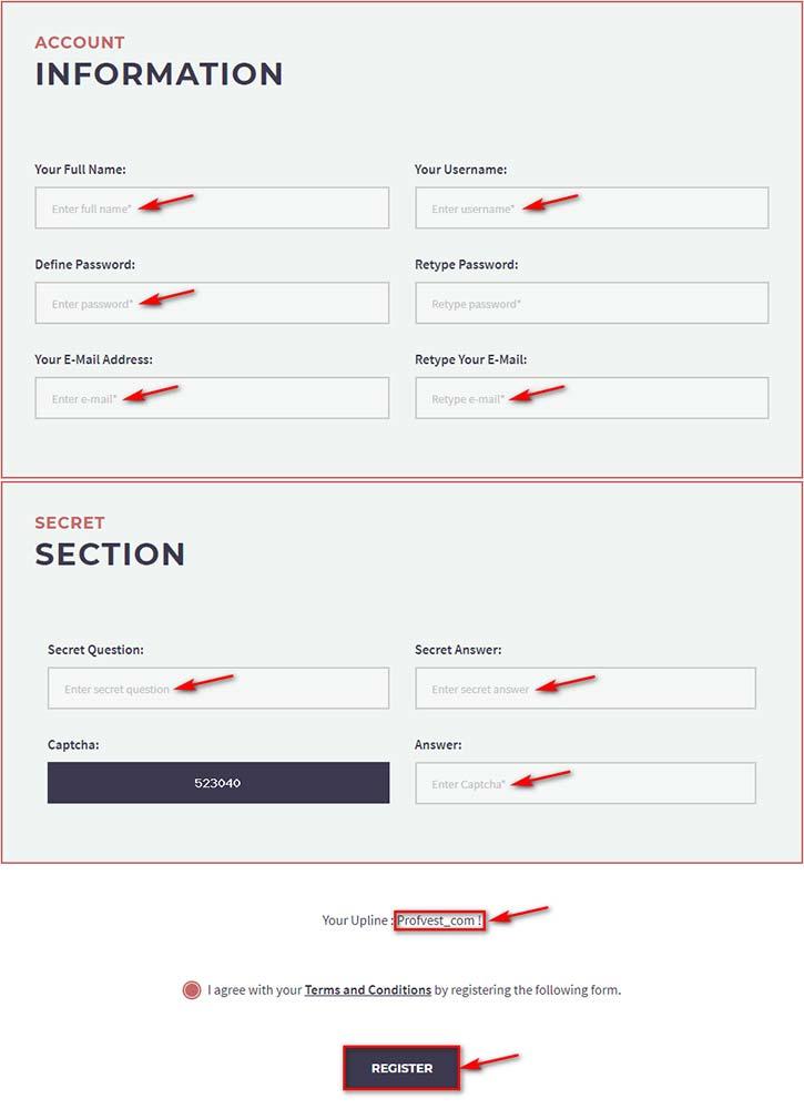 Регистрация в Stableon Limited 2