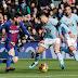 Lionel Messi marcó en el empate del Barcelona frente al Celta de Vigo