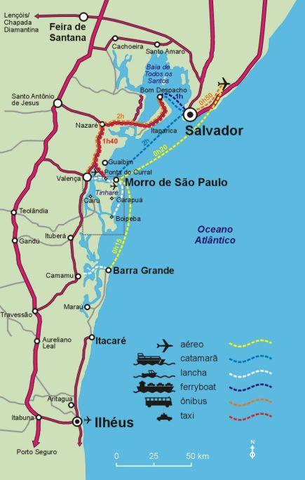Mapas De Morro De Sao Paulo Ba Mapasblog