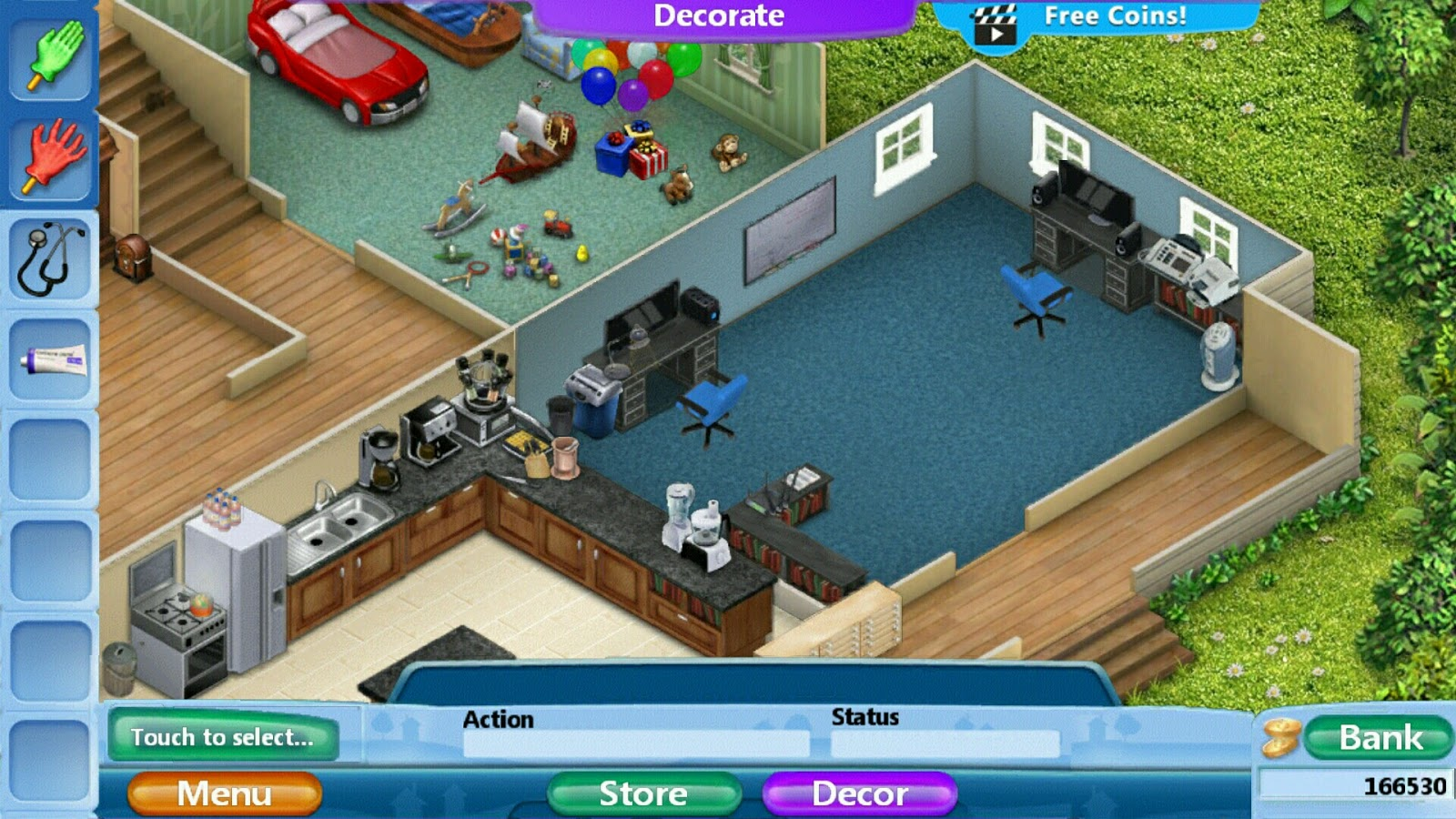 Virtual Families 2 Home Renovation Office Remodel Pictures