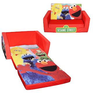 Sesame Street Flip Open Sofa Thecreativescientistcom