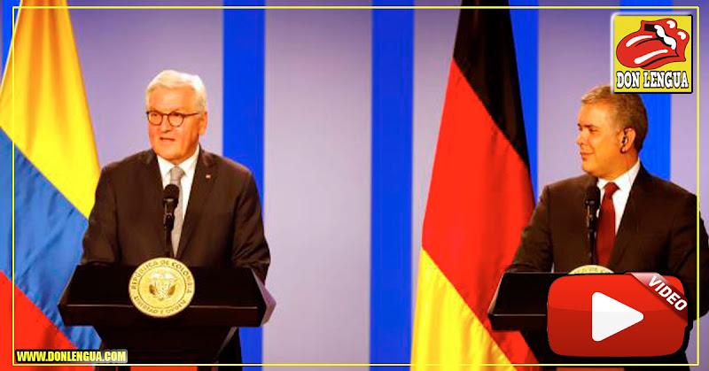 Presidente de Alemania dice que Guaidó esta en la posición correcta