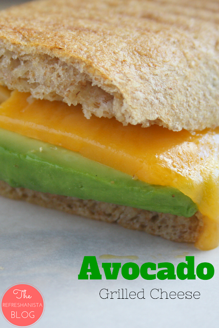 Avocado Grilled Cheese- turn your childhood favourite into a gourmet lunch! | The Refreshanista
