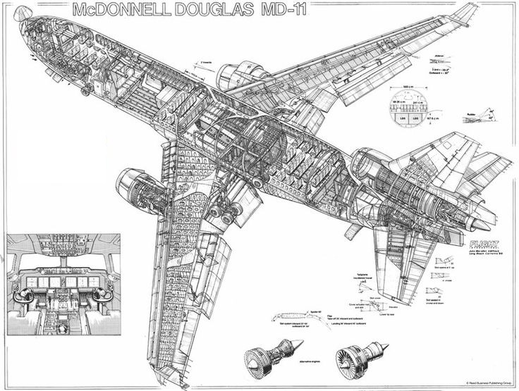 McDonnell Douglas MD-11 ~ Electronic Note