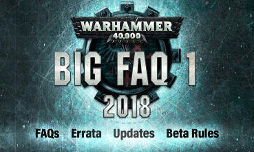 BIG FAQ Warhammer 40.000