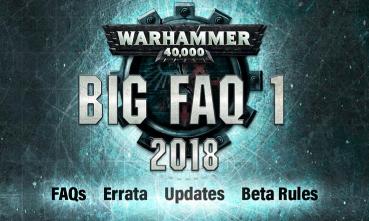 BIG FAQ Warhammer 40.000