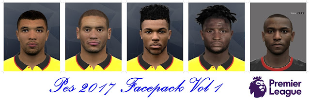 Pes 2017 Facepack Vol 1