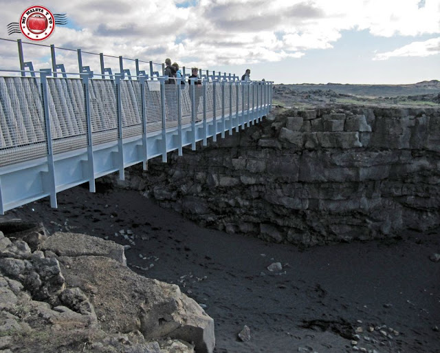 Sandvík, el puente entre dos continentes, Islandia