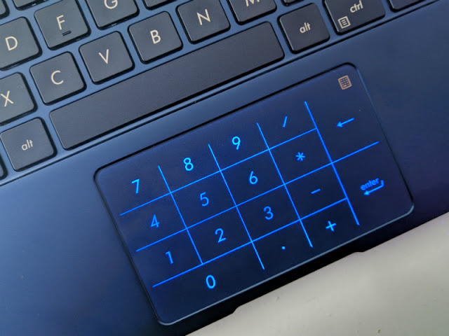 ZenBook 14 15 Numpad Virtual