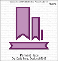 ODBD Custom Pennant Flags Dies