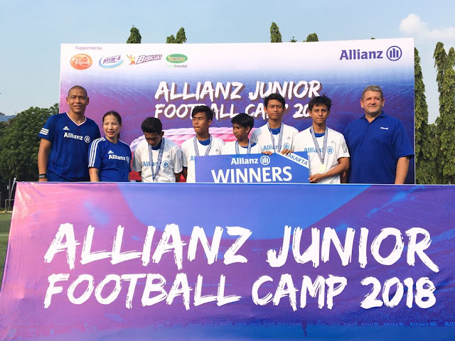 Allianz Junior Football Camp 2018
