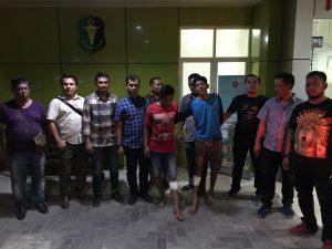 Polsek Patumbak Tangkap Ganja 40 Kg dari Aceh,Kedua Pelaku di Hadiahi Timah Panas