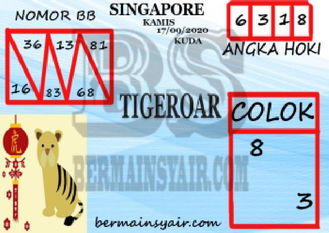 Kode syair Singapore Kamis 17 September 2020 283