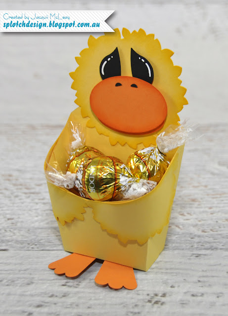 Easter Duck Fries Box