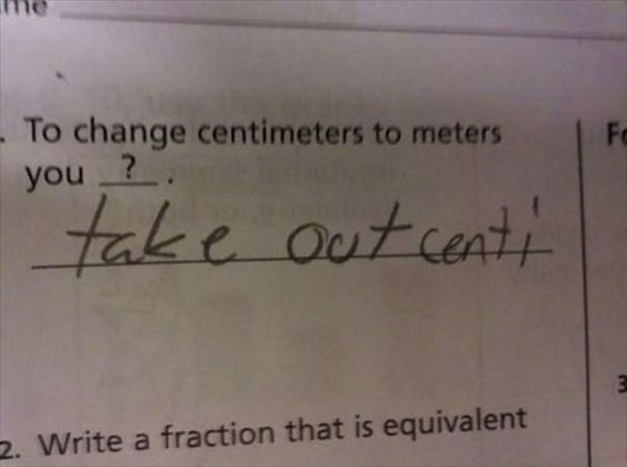 Funny Kids Test Answers