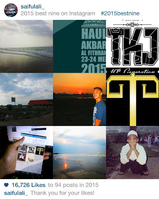 Cara Membuat Foto Best Nine 2015 di Instagram