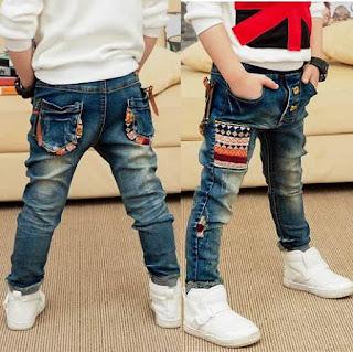 Contoh Celana Jeans Keren Anak Laki-Laki