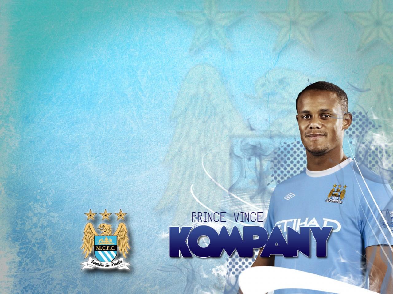 Vincent Kompany Wallpaper Manchester City FC