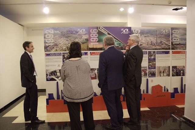 Petronor repasa en una exposición sus 50 años de historia